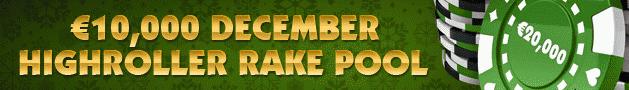 NoiQ Poker 10K December Highroller Rake Pool