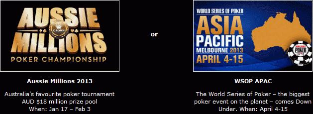 888 Poker Aussie Gold Rush