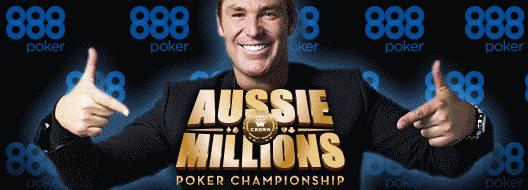 888Poker Aussie Millions Qualifiers