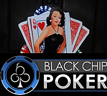 black chip logo