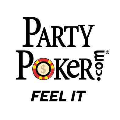 Party Poker Logo Feel it