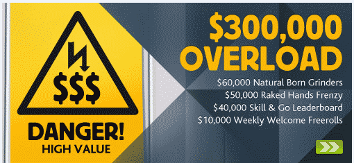 Betfair $300,000 Overload