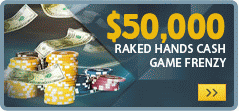 Betfair March $50K Raked Hands Frenzy