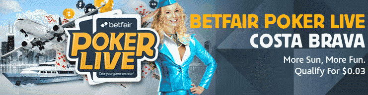 Betfair Poker Live Costa Brava