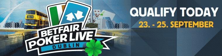 Betfair Poker Live! Dublin Qualifiers