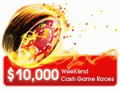 Betsafe November $10K Weekend Cash Game Races