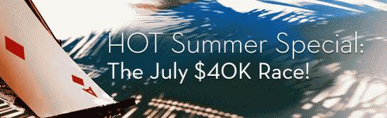 Betsson $40K July Race