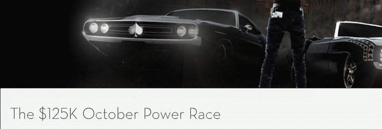 Betsson October $125K Power Race