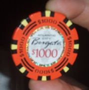 Borgata poker chip