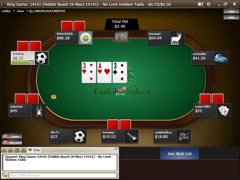 Cake Poker - Rakeback.com