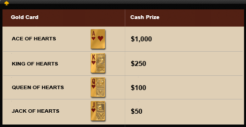 Cake Poker Match & Win Prize Payouts