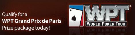 Cake Poker WPT Paris Qualifiers