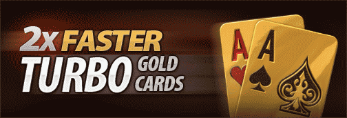 Cake Poker Turbo Gold Cards