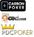 Carbon Poker, Aced Poker, PDC Poker