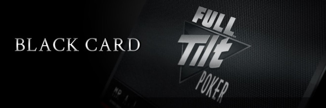 Full Tilt Poker Black Card