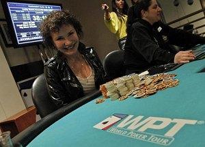 Diane Gigi Gagne - WPT Poker Runner Up