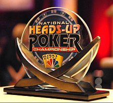 NBC National Heads-Up Poker Championship Trophy