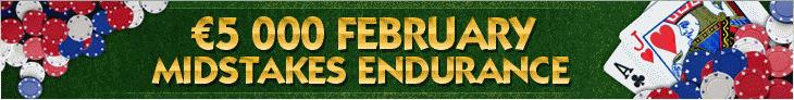 NoiQ Poker February 5K Midstakes Endurance Race