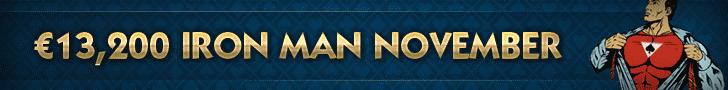 NoiQ Poker November Iron Man