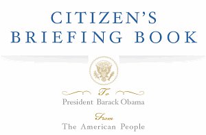 Obama's Citizen's Briefing Book