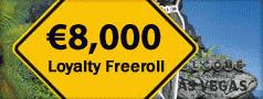 Paradise Poker 8K Loyalty Freeroll