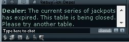 Party Jackpot Tables Expire