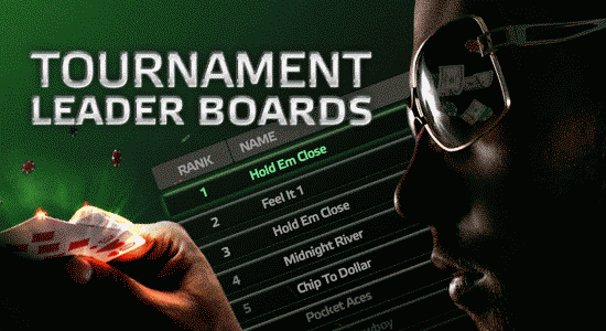 Party Poker Tournament Leader Boards