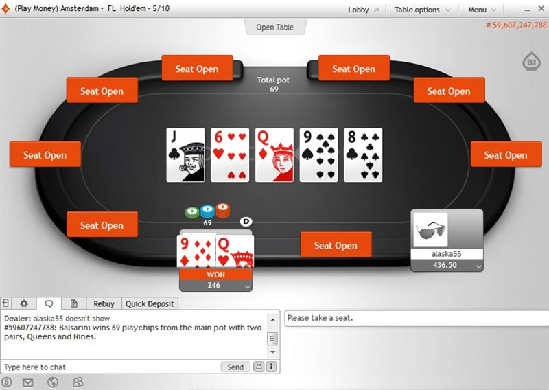 Does party poker have rakeback