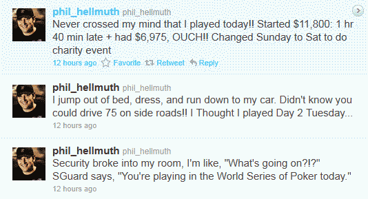 Phil Hellmuth Twitter