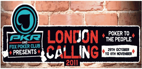PKR London Calling Event
