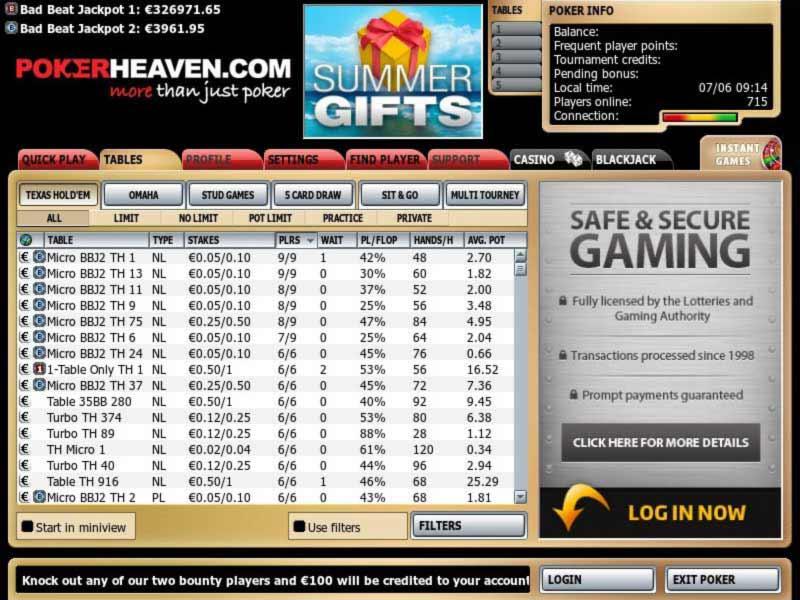 Pokerheaven