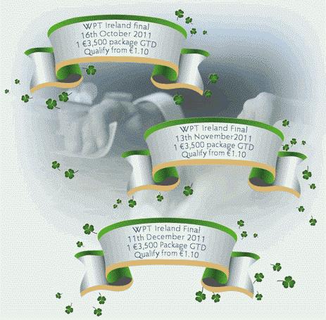 Poker Heaven WPT Ireland Satellite Dates
