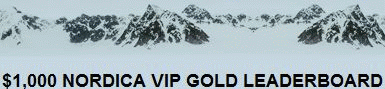 Poker Nordica $1K VIP Gold Leaderboard