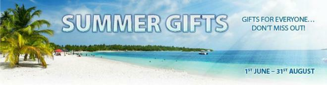 Poker Heaven summer gift promotion of 2009