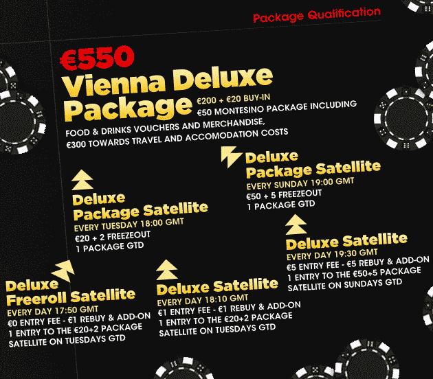 Poker Heaven Vienna Package