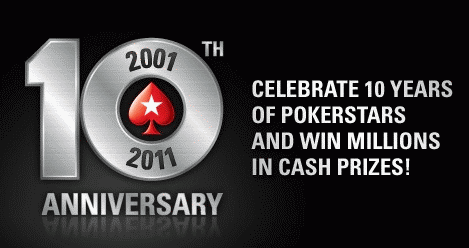 PokerStars 10th Anniversary Celebration