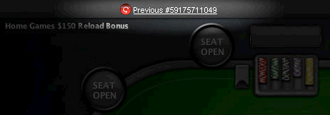 PokerStars In-Game Hand Count