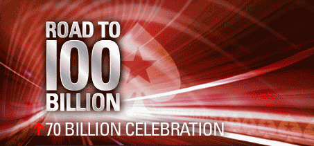 PokerStars 70 Billionth Hand Promotion