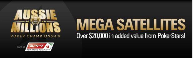 pokerstars aussie millions mega satellite