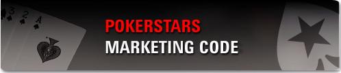 Pokerstars Marketing Code, Free Money to PokerStars