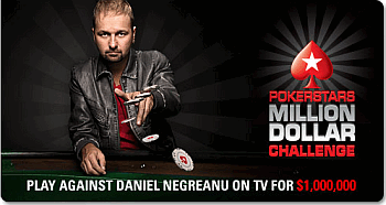 PokerStars Million Dollar Challenge promotion.