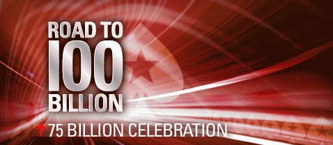 PokerStars Road to 100 Billion Hands