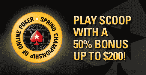 PokerStars SCOOP Reload Bonus