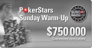 PokerStars Sunday Warm-up Tournament.