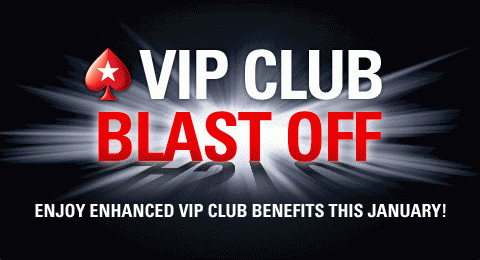 PokerStars VIP Club Blast Off
