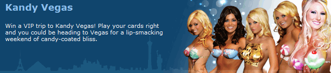 Absolute Poker Kandy Vegas promotion