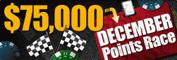 RedKings December $75k Points Race