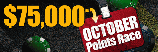 RedKings October $75k Points Race