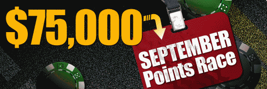 RedKings 75K September Points Race