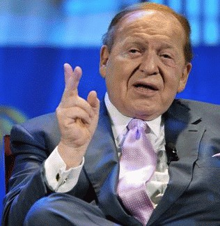 Las Vegas Sands CEO Sheldon Adelson